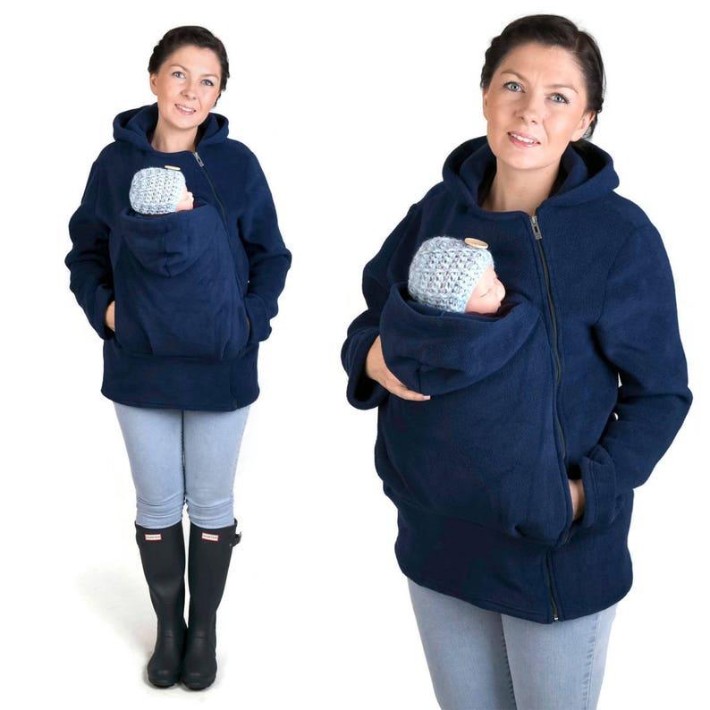 BASIC portabebè giacca Baby carrier felpa Kangaroo  b48d5c76a2b