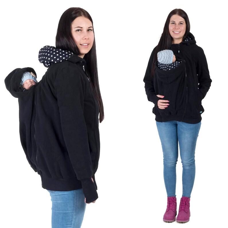 0861ba47e590d KOALA 3in1 Babywearing jacket FRONT/BACK Maternity Pregnancy | Etsy