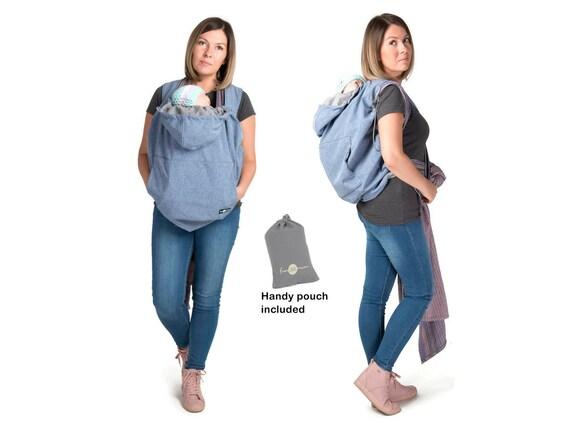 Housse de porteur de bébé couverture de portage housse   Etsy bea221360e6