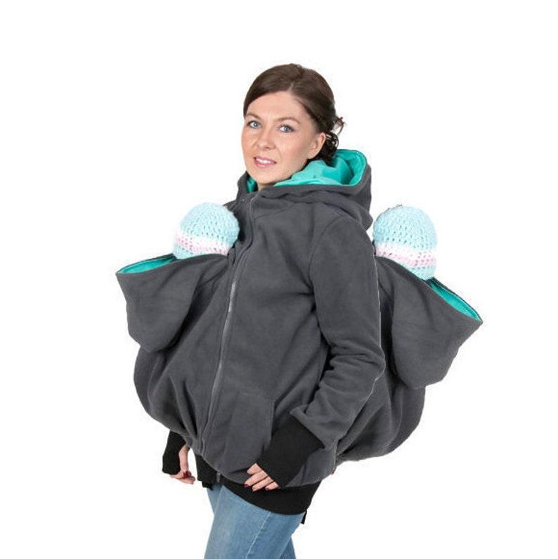 07354faba5995 GEMINI 3in1 Babywearing jacket TWINS Maternity Pregnancy | Etsy