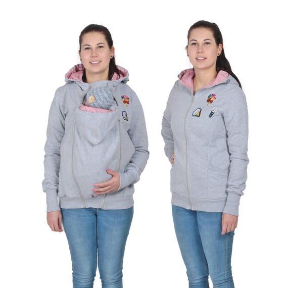 cccfa83ded24 3 en 1 bébé transporteur sweat à capuche kangourou   Etsy