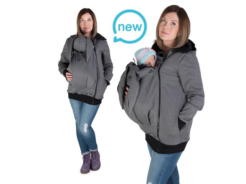 MAYA BUNNY EARS Baby carrier portabebè giacca felpa con  c4ead176aa5