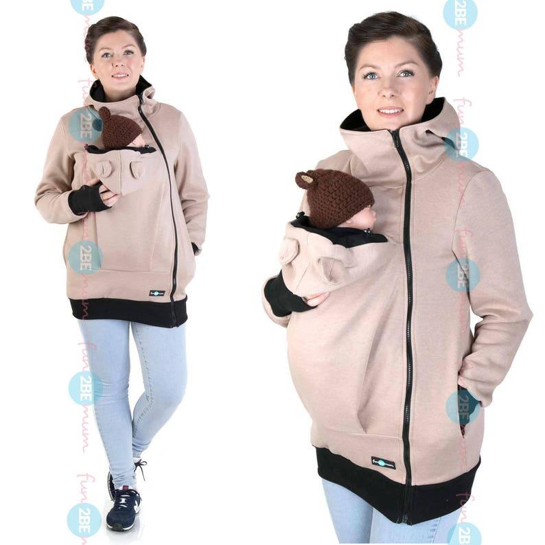 3693b5428950f MAYA Baby carrier babycarrying jacket hoodie Kangaroo | Etsy