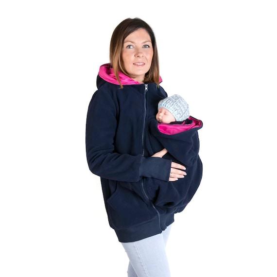 LUNA 3 en 1 portage veste sweat à capuche maternité grossesse   Etsy cfd4303b723