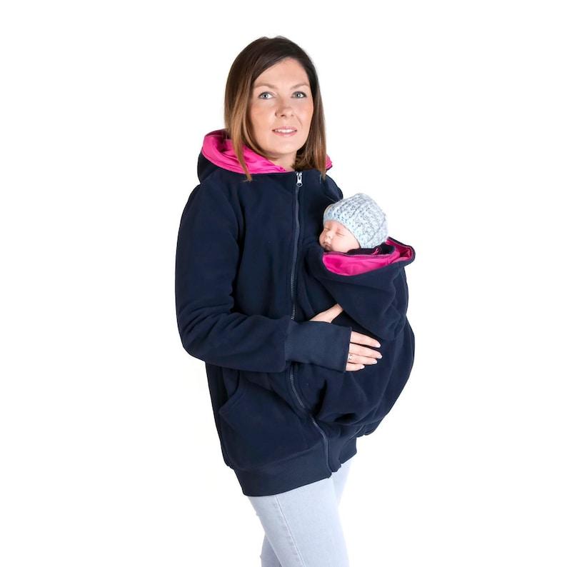 bf277c3f7cc84 LUNA 3in1 Babywearing jacket Maternity Pregnancy | Etsy