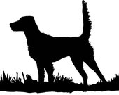 English Setter Bird Dog Upland Hunting Decal