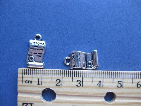 24mm Schmuck DIY D Metall Antiksilber 5x Runde Charm Anhänger Good Friends