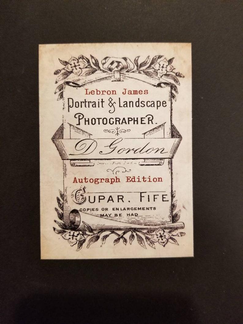 Lebron James Vintage Style Photo Studio Autograph Edition Custom Card Free Shipping
