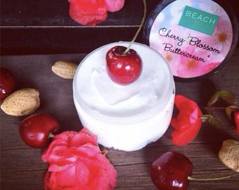 SET OF TWO Almond Cherry Blossom Buttercream (Body Butters)!!!
