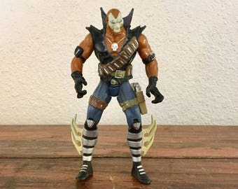 1995 Chapel Action Figure / Spawn / Rob Liefeld / McFarlane Toys