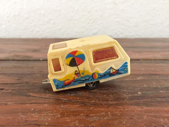 Majorette St Tropez Toy Trailer No 201 Hot Wheels Style Vintage Cars Made In France