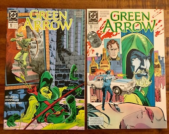 1989 Green Arrow #19 and #20 Comic Books/NM-VF/DC Comics /Mike Grell/Trial of Oliver Queen/Choose One or Both For a Discounted Price!!!