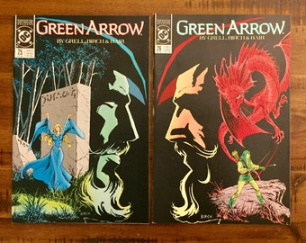 1989 Green Arrow #25 and #26 Comic Books/NM-VF/DC Comics /Mike Grell/Robin Hood/ Mini-Series/Choose One or Both For a Discounted Price!!!