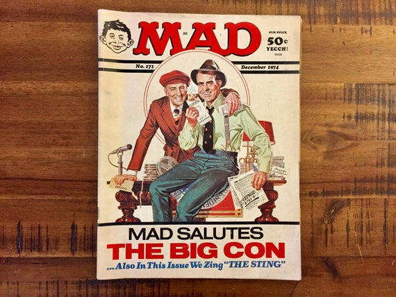 1974 Mad Magazine 171   FN-VG   The Big Con   The Sting  e35f7ccece9f
