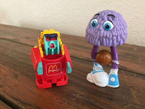 Lot Of 2 McDonalds Toys Fry Guy And Changeable