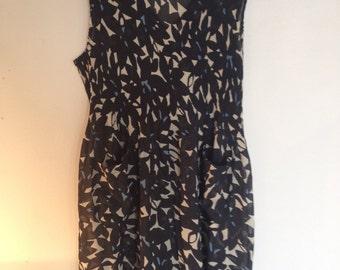 Vintage Summer Shift Dress / Tunic Ladies Size 12