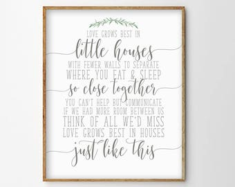 Little Houses Quote Etsy