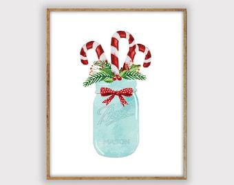 Christmas Art.Christmas Art Print Etsy