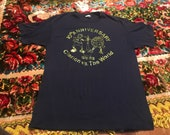 1988 Clarion Golden Eagles vs. The World 10th Anniversary t-shirt rare college baseball single stitched ched Anvil ncaa university student