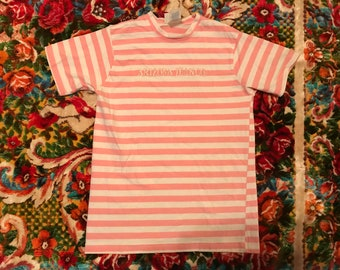 6d4733c1b062 90s Guess Jeans USA style Arizona Jeans Co. striped t-shirt rare  embroidered streetwear cool hypebeast supreme asap rocky Kanye West rap tee