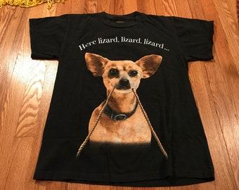 befe937ed32 1998 Taco Bell Chihuahua t-shirt rare vintage fast good legend dog cute  lizard del taco McDonald s Star Wars single stitch old school 90s