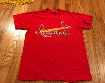 4fb65b1f173 1987 St. Louis Cardinals vintage t-shirt rare trench single stitched mlb  baseball jersey logo 7 80s classic mark McGuire single stitched 70s