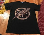 1995 Led Zeppelin - Robert Plant and Jimmy Page Zoso tour t-shirt rare band tee hard rock classic 80s 90s 70s all over print album beatles