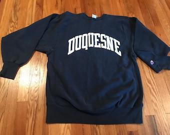 Duquesne University Dukes Crewneck College Sweater S M L XL 2XL