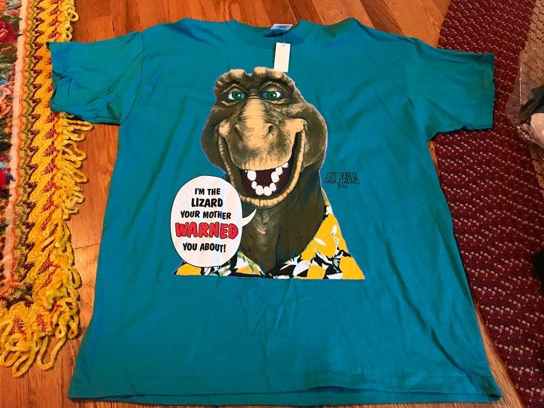 da19506b8cde 90s Dinosaurs Roy vintage deadstock NWT t-shirt rare Disney   Etsy