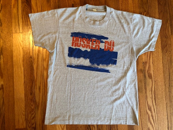 HOLY GRAIL mid 80s Husker Du vintage t-shirt origi
