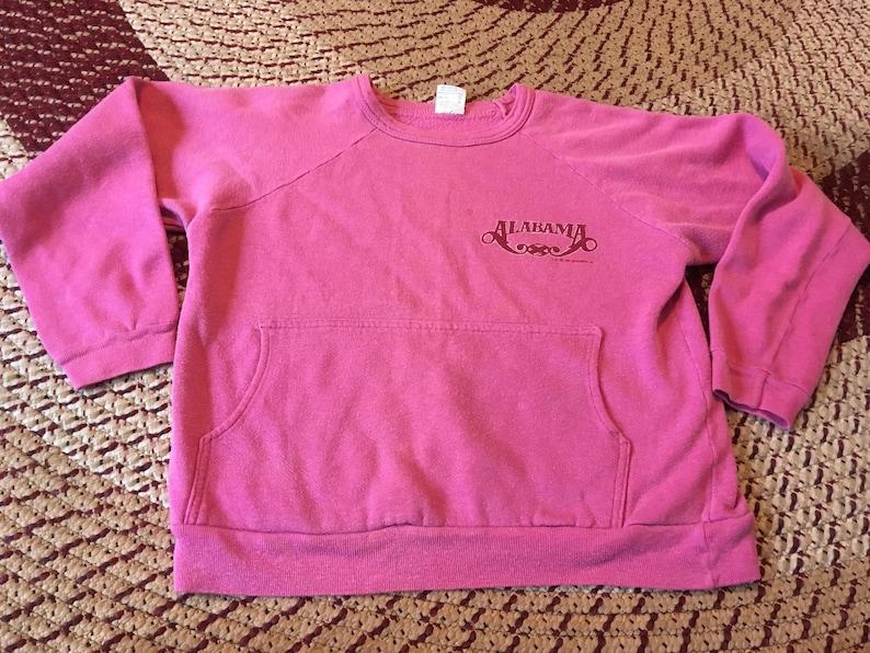 df57e684d63 1988 Alabama vintage crewneck sweatshirt sweater shirt pink