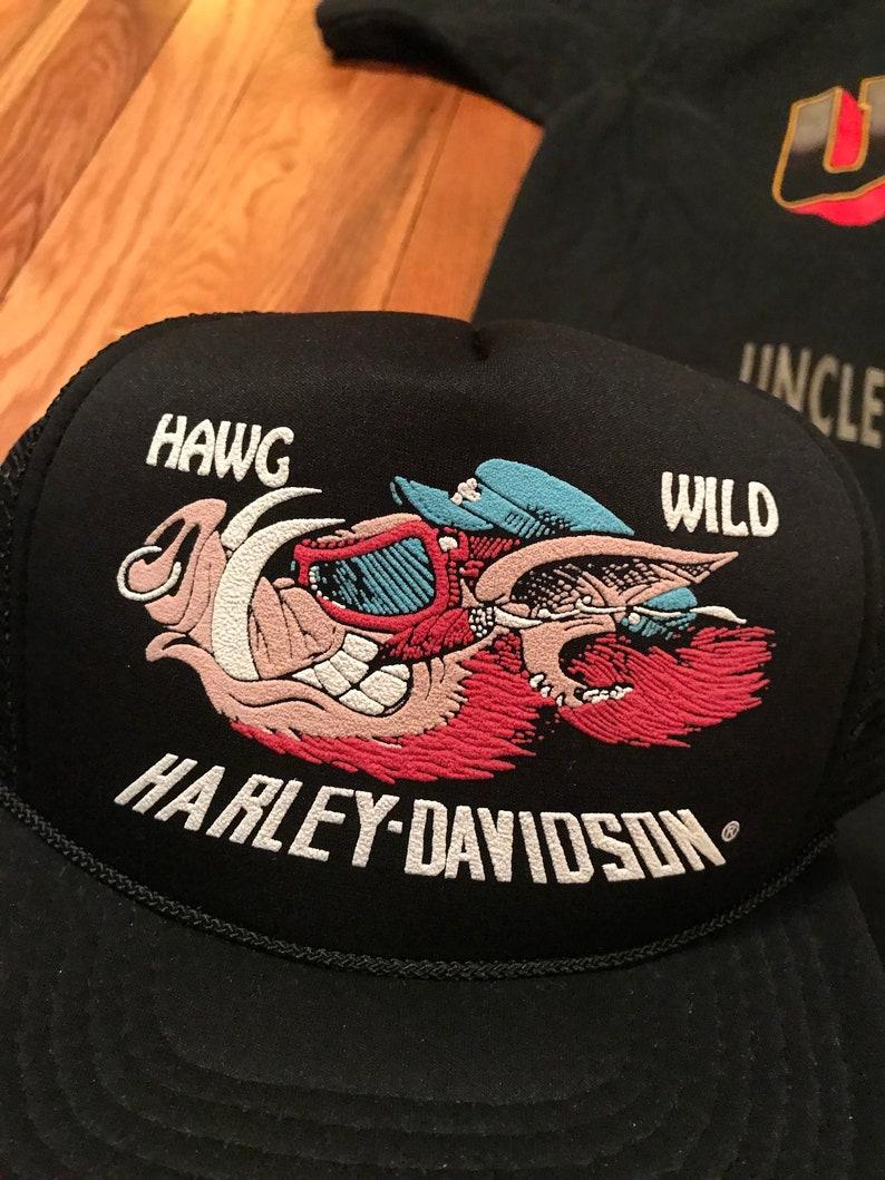 d6ee9d40 INSANELY RARE 80s Harley Davidson Hawg Wild vintage | Etsy