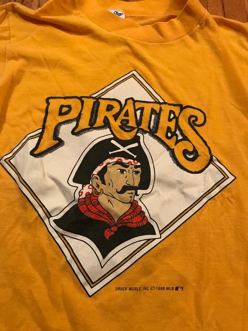1988 Pittsburgh Pirates vintage t-shirt rare old school mlb  80747743b