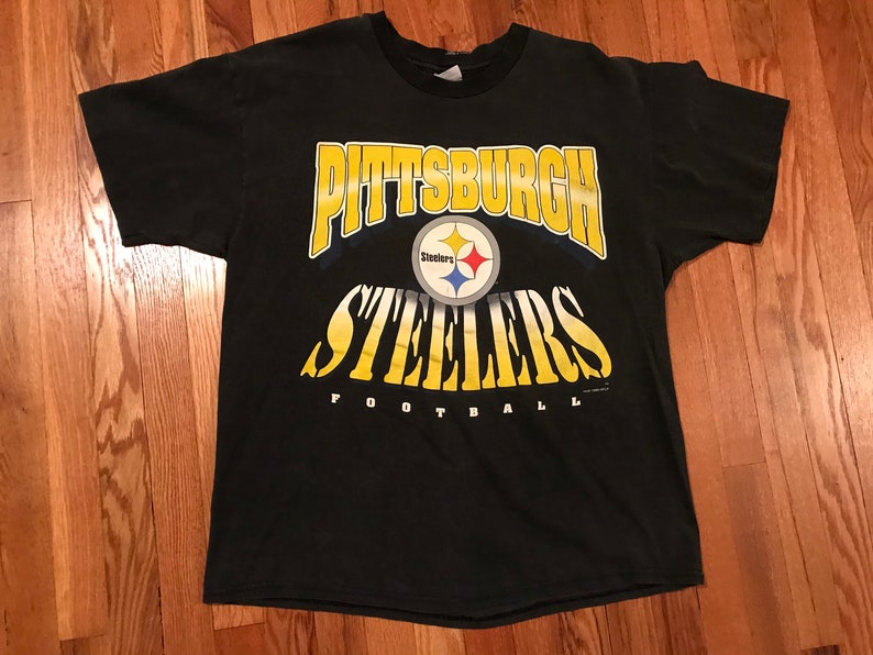 56895f11d 1995 Pittsburgh Steelers t-shirt single stitch rare old school | Etsy