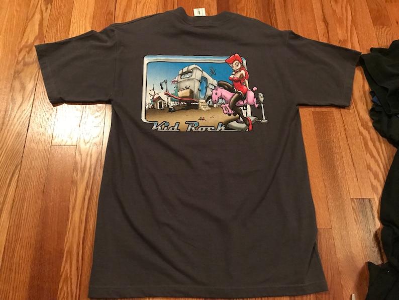 ab0cfc2d 90s Kid Rock vintage t-shirt tour NWT band rare devil without   Etsy