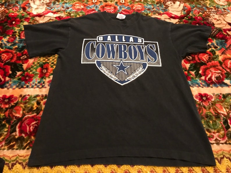1993 Dallas Cowboys vintage Trench t shirt rare old school | Etsy