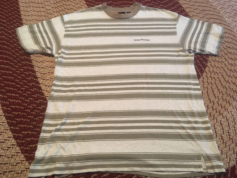 Guess Jeans Striped T Shirt Asap Rocky - raveitsafe