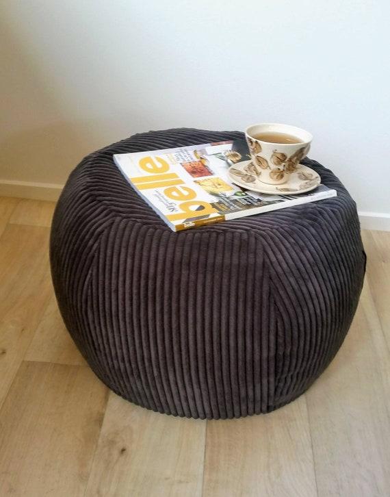 Phenomenal Ottoman Pouf Dark Grey Velvet Pouf Charcoal Round Pouf Beanbag Pouf Bean Bag Ottoman Charcoal Floor Cushion Ottoman Pouf Grey Pouffe Ibusinesslaw Wood Chair Design Ideas Ibusinesslaworg