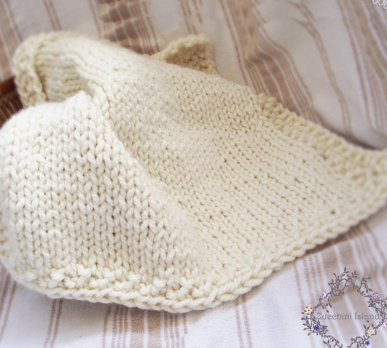 111 Knitting Pattern PDF Chunky Baby Blanket Instant   Etsy