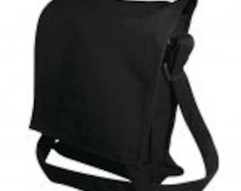 Shoulder sting adjustable bag for printing black