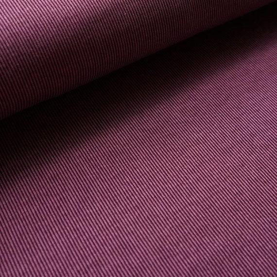 Rib Stoffen Bank.Jacquard Rib Pattern Plum Organic Knitted Jacquard Fabric Uncle