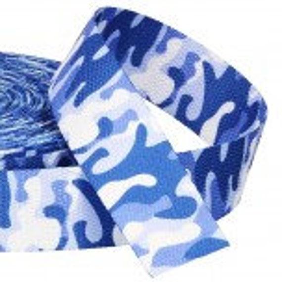 Mm Taschen Gurtband Camouflage 30 Blau MpVSUz