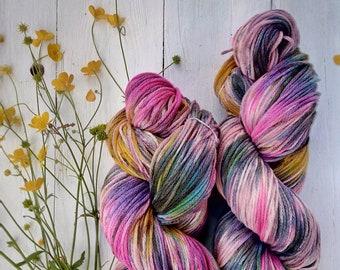 Rainbow. Merino/cashmere yarn Kit. 250 g
