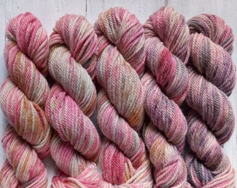 Undergrowth. Hand-dyed Alpaca yarn KIT. 250g