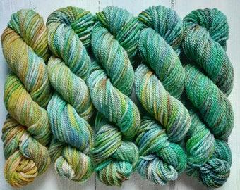 Undergrowth. Hand-dyed Alpaca Kit. 250g