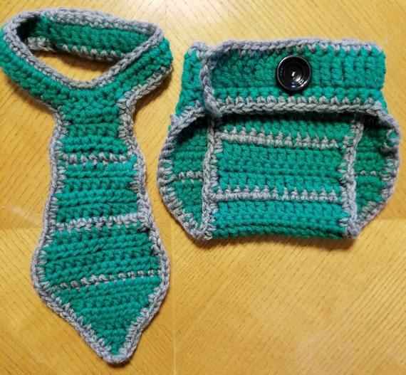 6c3f0706a Crochet Newborn Baby Harry Potter Slytherin Diaper Cover and | Etsy