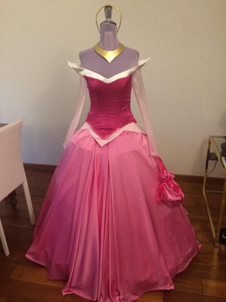 Sleeping Beauty Aurora hecho a mano traje cosplay bella | Etsy