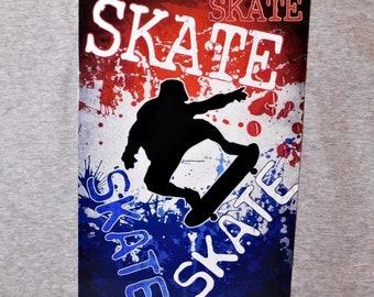 7d31ca65e266 Metal Sign SKATEBOARDING skateboarder SK8 skateboard skater skate or die  skating tricks aluminum 8