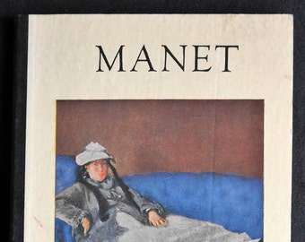 Édouard Manet Hardcover Art Book by Henri Dumont, Masters in Art Series, Hyperion Press, Small Book