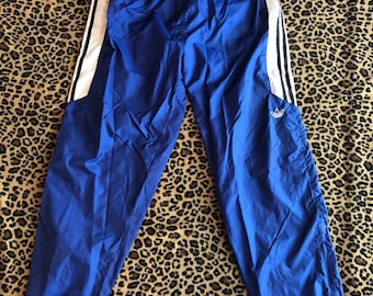 Blue adidas pants | Etsy